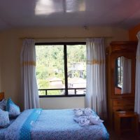 Comfortable and clean room at our retreat in Nepal Pokhara